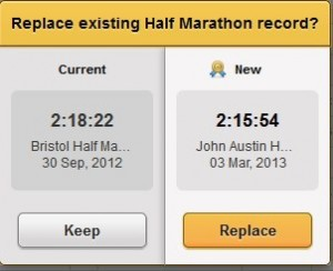 New PB at John Austin Half Marathon