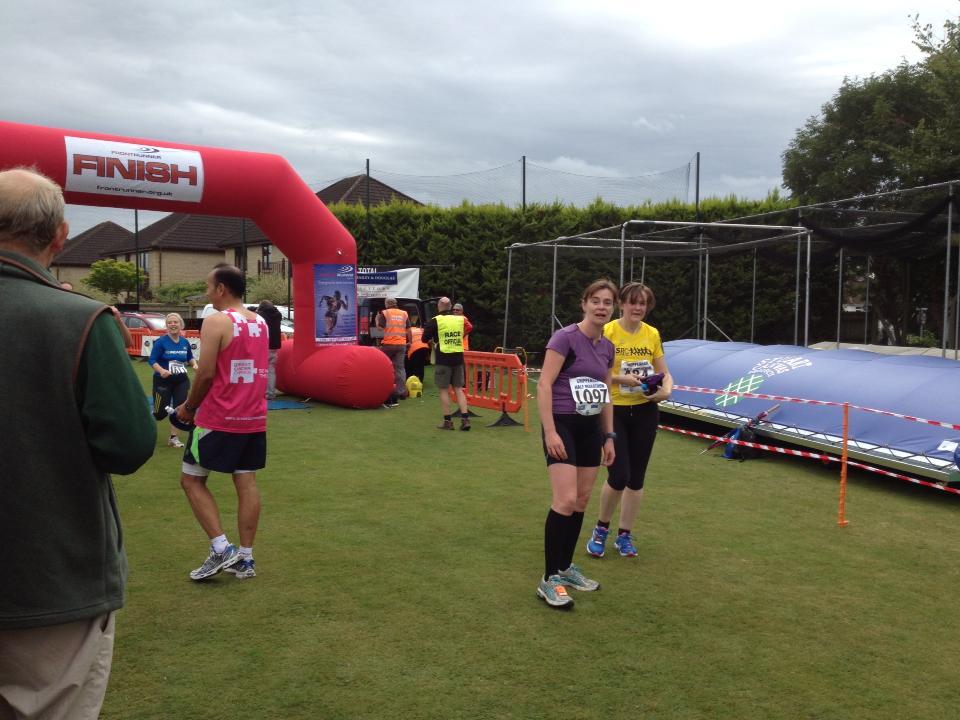 Chippenham2013 - gormless finish