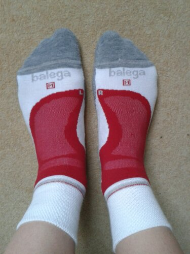 Balega Socks from my Write This Run goody bag