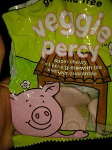 Veggie Percy Pigs
