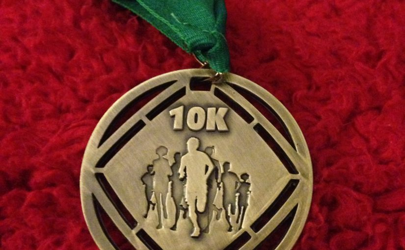 Great Chalfield 10K. Sometimes it's enough to finish